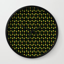 Pineapple Attack Wall Clock