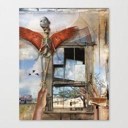Post Mortem Canvas Print