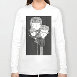 The Baudelaire orphans Long Sleeve T-shirt