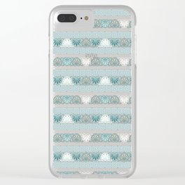 Ancient Greece Clear iPhone Case