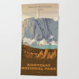Kootenay National Park Beach Towel