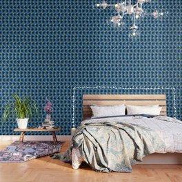 NeonBlu Squares Wallpaper