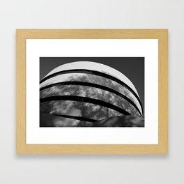 Museum Shadow Framed Art Print