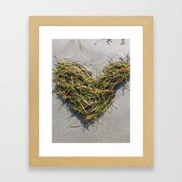 Love On The Beach  Framed Art Print
