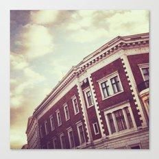 Riga Rooftops Canvas Print