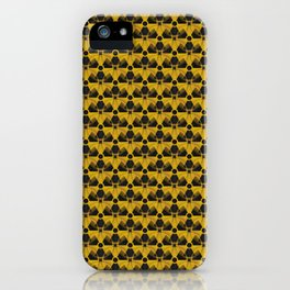 Nuclear Yellow & Black Nuke Sign iPhone Case