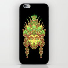 Eternal Death and her family/ Eternal Life and her family in the mirror of creation I iPhone & iPod Skin