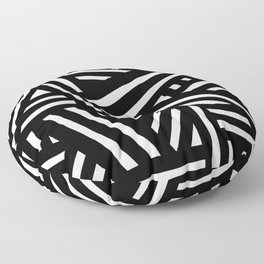 Monochrome 01 Floor Pillow