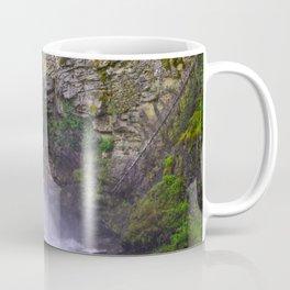 Summer Snow Melt - Waterfall & Forest Coffee Mug
