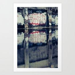 Urban Graffiti Art Print