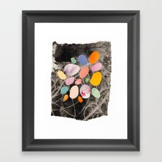 pebbles Framed Art Print