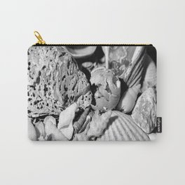 sea shells in grey. Carry-All Pouch