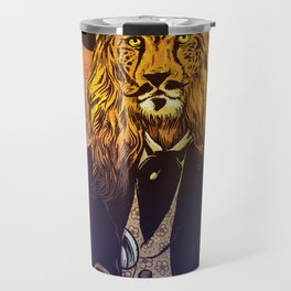Low down, no good, Lion Cheetah Travel Mug