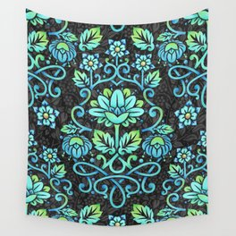 Nouveau Damask Wall Tapestry