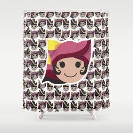 Iconic Headdresses - West Sumatra (Female Version) Shower Curtain