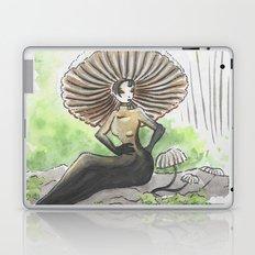 Empire of Mushrooms: Marasmius rotula Laptop & iPad Skin