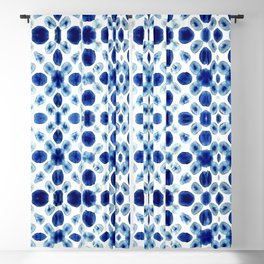 Shibori Circles Blackout Curtain