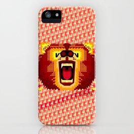 Geometric Bear 2012 iPhone Case