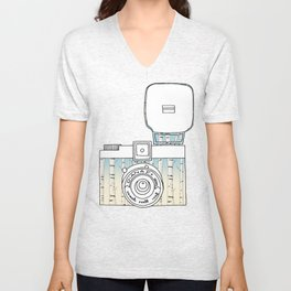 Photo in Russian Style  Unisex V-Neck