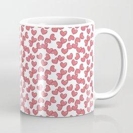 Hearts and Hearts pattern Coffee Mug
