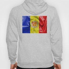 Andorra Flag Hoody