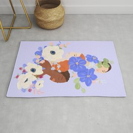 Flower Ladies Rug