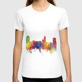 Raleigh North Carolina Skyline T-shirt