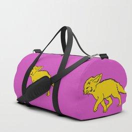 The Sly Fennec Fox Duffle Bag
