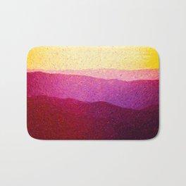 Shenandoah Sunrise Bath Mat