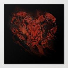 Mars & Aries Canvas Print
