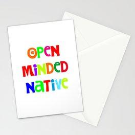 Open minded Native Stationery Cards