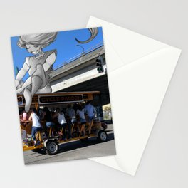 Catching a Ride Stationery Cards