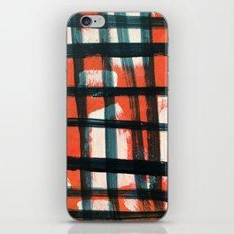 Modern Scottish Twill iPhone Skin