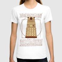 dalek T-shirts featuring Vitruvian Dalek by Studio Fibonacci