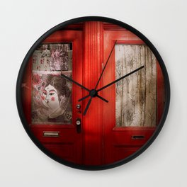 Best Friends - Montreal Photography Wall Clock