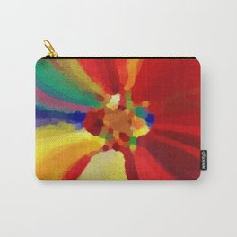 Painter's Floral Carry-All Pouch