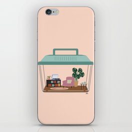 hermit habitat iPhone Skin