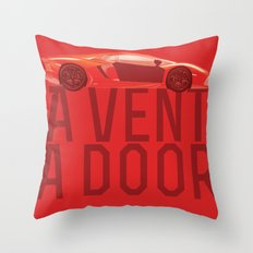 A Vent, A Door Throw Pillow