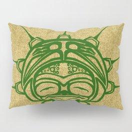 Grass Frog Sand Pillow Sham