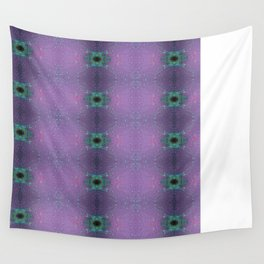 Silicon-based life form - E5 purple Wall Tapestry