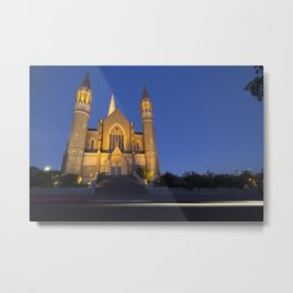 Sacred Heart Cathedral Bendigo Metal Print