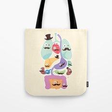 Gentlemen Organs Tote Bag