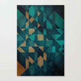 Shuffling Canvas Print