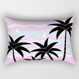Hello Islands - Sunny Shores Rectangular Pillow