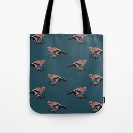 Jay on blue Tote Bag