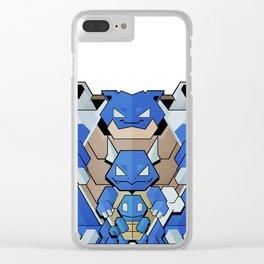 Blue Starter Clear iPhone Case