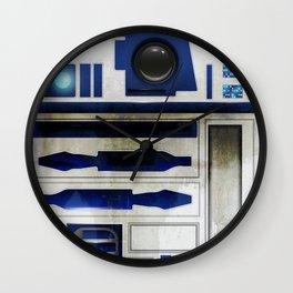 R2 Texture Wall Clock