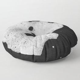 White mousse Floor Pillow