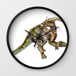 Parasaurolophus Wall Clock