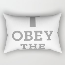 Obey The Beard Funny Rectangular Pillow